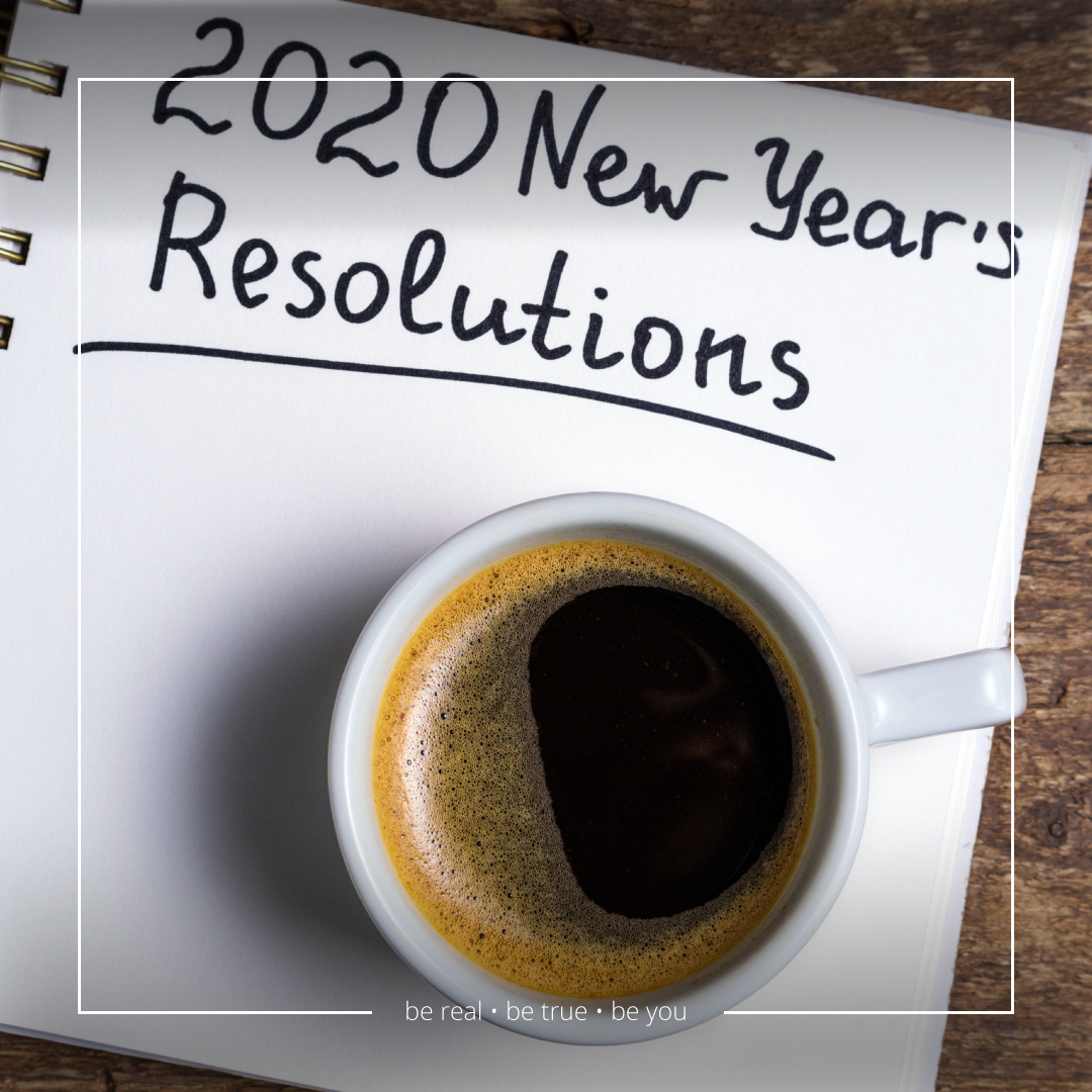 Coffee In A Cup On Top Of A Note Reading 2020 New Year Resolutions